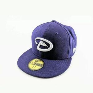 Arizona Diamondbacks Hat New Era 7 1/8 Purple Rare
